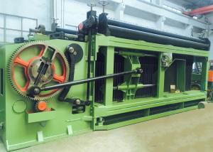 China 3 Twist PLC Control Gabion Mesh Machine For Hexagonal Wire Netting Reno Mattress supplier