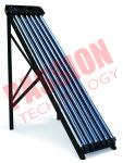 Slope Roof High Efficiency Pressurized Heat Pipe Thermal Solar Collector For Solar Thermal Heating