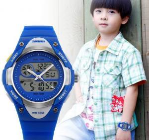 China SKMEI S-SHOCK Analog Digital Wristwatch 1055 Hot Cute Kids Quartz Military Watch 1055 on sale