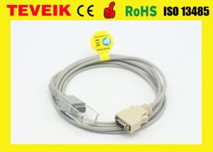 China Nellcor SCP-10 SpO2 Extension cable, 14pin to DB9 female spo2 sensor cable on sale