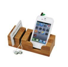 China Bamboo Desk Organizer, Celphone holder, Pen Holder, Bamboo Handle. on sale