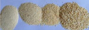 China Orange Red Dehydrated Vegetables Dried Carrot Granules By Hot - Air Drying SDV-CARG on sale