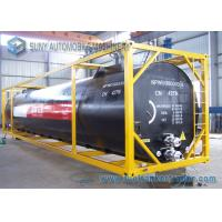 China Transportation 40FT Bitumen / Asphalt Tanker Trailer With Self Discharge on sale