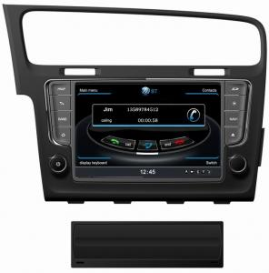 China Ouchuangbo audio DVD GPS for VW golf 7 S100 platform with 3G WIFI hot selling on sale