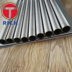 Round Seamless Titanium Pipe For Condenser / Stainless Steel Tubing For Heater Exchanger