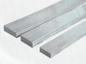 China Custom Extrusion Flat Aluminum Bar 6063 6005 With Bending / Cutting on sale