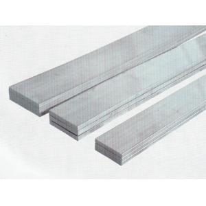 China Custom Extrusion Flat Aluminum Bar 6063 6005 With Bending / Cutting on sale