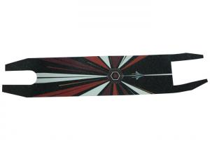 Quality Tear Resistance Black Skateboard Grip Tape , Spider Man Skateboard Deck Tape for sale