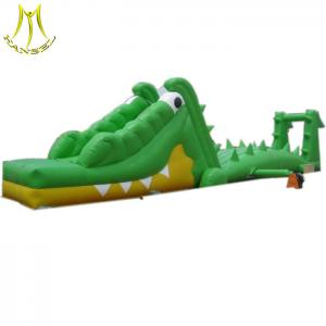 China Hansel amusement park kids inflatable playhouse with climb stairs for sale on sale