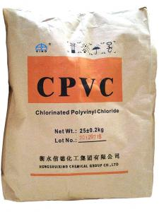 China Industrial Pipe usage Extrusion Grade CPVC RESIN on sale