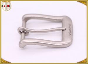 Quality Beautiful Smooth Surface Metal Plain Belt Buckles With Single Pin Different Size for sale