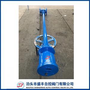 China Soupape à vanne malléable directement enterrée de haute qualité de fer de joint élastique de tige d'extension on sale