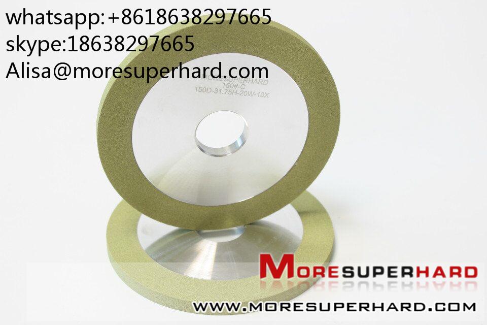 Ceramic binder knife grinding wheel