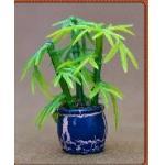 モデル プラスチック1:20の鉢植えな植物、モデル材料、装飾の花、人工的な鍋、1:25,3CMの鉢植えな植物