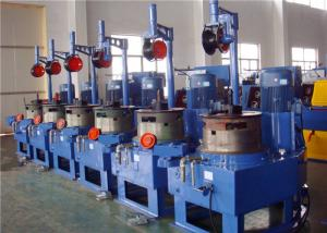 China Vertical Wire Drawing Machine , Black Annealed  Wire Drawing Equipment on sale