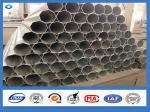 Octagonal Hot Dip Galvanized Lap Joint Type Power Steel Poles