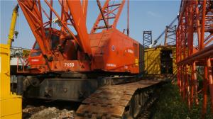 China Used Kobelco 150 ton crawler crane on sale