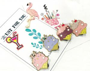 China Custom Fashion Metal Enamel Lapel Pin for Promotion Gift HEP-001 on sale