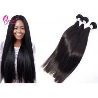 Unprocessed No Tangle Shedding Peruvian Hair Bundles For Young Girl 11A Grade