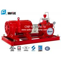 Horizontal Electric Motor Driven Fire Pump 311 Feet / 95 Meter Energy Savings