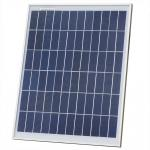 20W Mono / Poly Mini Solar Panels 12V Battery Easy Carry For Courtyard Lighting