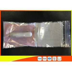 Quality Ldpe Packaging Industrial Ziplock Bags White Board Easy To Write On The Surface for sale