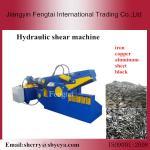 販売のリサイクルのための油圧不用な金属のブロックの剪断機