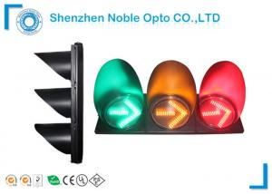 China 12V / 100V  RYG Temporary Traffic Lights Road Intersection Security on sale