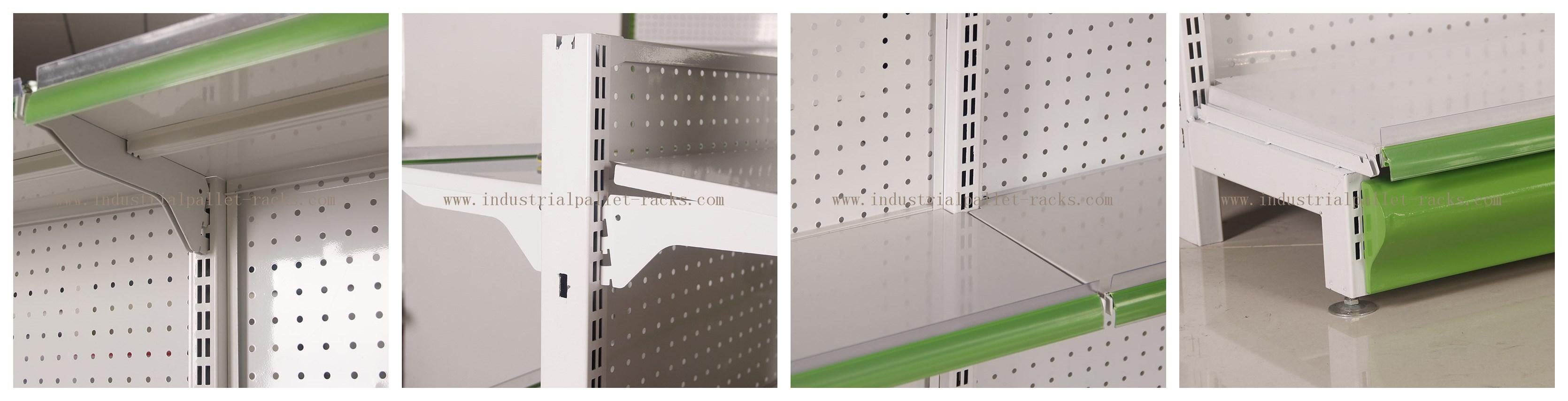 Gondola Shelving Multi Level Display Rack For Versatile