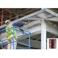 Two Hours Thick Film Water Based Exterior Metal Paint Liquid Grey Intumescet Resistant