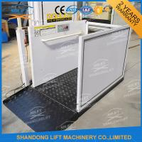 China Portable Handicap Lift Equipment Electric Vertical Residential Wheelchair Lifts For Home on sale