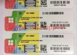 Genuine Windows COA License Sticker For PC , Windows 7/ 8.1 / 10 Pro Product Key Code