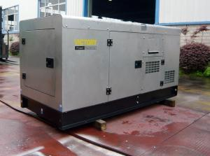 China Three Phase / Single Phase Diesel Generating Sets Silent With 32KW 40KVA on sale