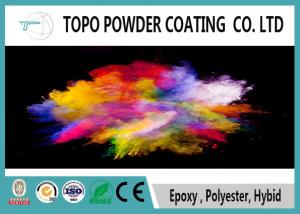 China Metal Decorative Powder Coating RAL 1016 Sulfur Yellow Color ROHS Approval on sale