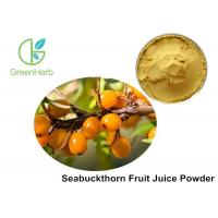 China Healthy Fruit Juice Powder Hippophae Rhamnoides Linn Promoting Wound Healing on sale