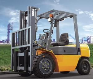 China Professional Heavy Construction Machinery 3 Ton Diesel Forklift Truck CPCD30 on sale