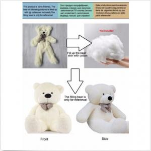 72inch BIG PLUSH White TEDDY BEAR Skin semi-finished product toy doll Xmas gift
