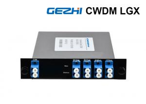 China LGX Cassette Optical Multiplexer And Demultiple 1510~1570nm Wavelength on sale