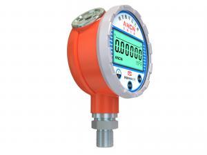 China 0.05% Accuracy Digital Pressure Gauge, High Precision Pressure Gauge Six Digits LCD Display on sale