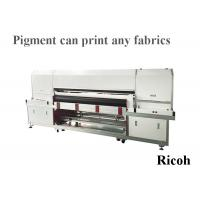 8 Ricoh Digital Textile Printer For Pigment Printing 1800mm Automatic Cleaning