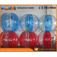 Human Sized Soccer Bubble Ball Inflatable Zorb Ball Heat Sealed 1 Year Warranty