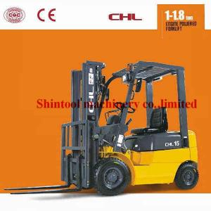 China 1.5 Ton Diesel Forklift Truck Driver seated Operation With 500mm Load Centre on sale