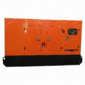 China 95kVa Silent Diesel Generator Set, 12V/1,00Ah x 2 Starting Battery on sale