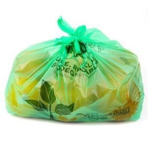 China Supermarket White PE LDPE HDPE Plastic Biodegradable Compostable Carrier Bags on sale