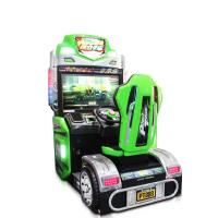 Coin Operated Racing Game Machine Arcade Style Racing Games With HD LCD Screen