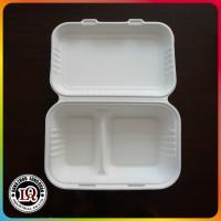 China Bagazo disponible a ir envase de comida de la cubierta on sale