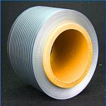 High frequency wire wrap with gray aluminum - plastic composite tape  AlMylar