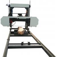 China Diesel Portable Horizontal Band Sawmill Machine, Wood Band Saw Mill, Portable Sawmill For Sale on sale