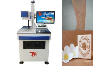 China Wood Laser Engraving Machine / Co2 Laser Engraver Air Switch Installed on sale