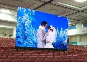 China Wedding Party LED Wall Screen Display Indoor / Moveable 16x9 LED Wall on sale